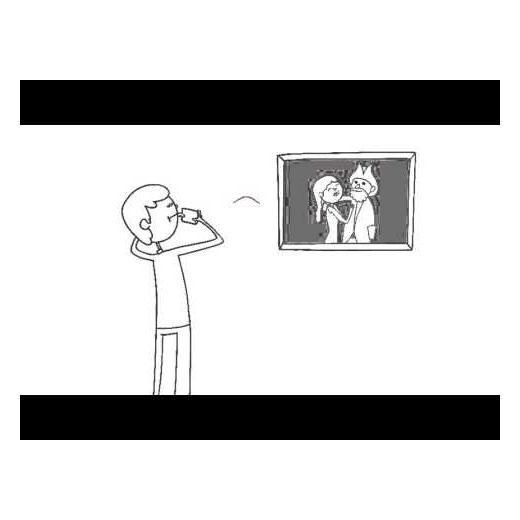 Dillo con un Cartoon Video