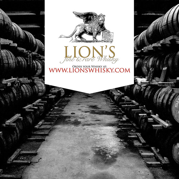 Case Lions Whisky